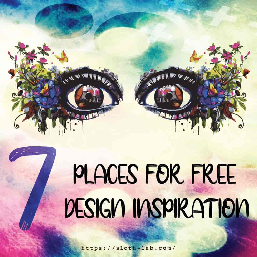 7 places for free design inspirations
