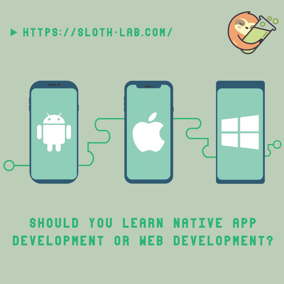 Should you Learn Native App Development or Web Development ?
